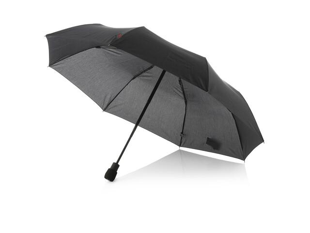 EuroSchirm light trek automatic Regenschirm schwarz